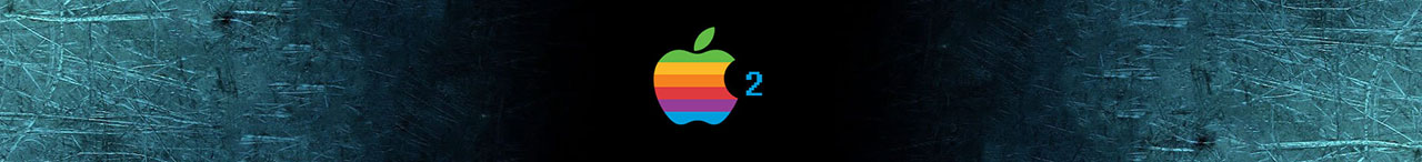 Apple II banner