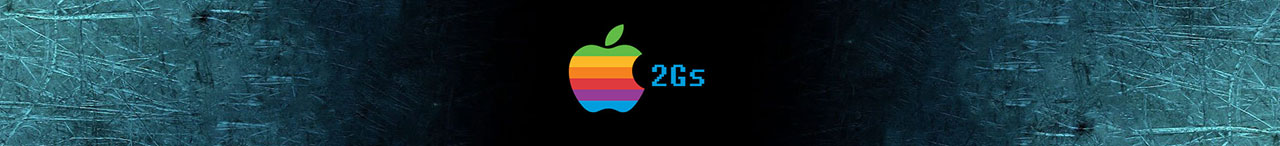 Apple II GS banner
